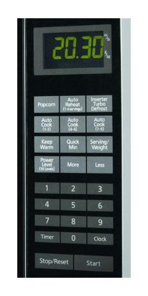 Amazon Com Panasonic Nn Sf550m Quot Flat Interior Cavity Quot 1 0