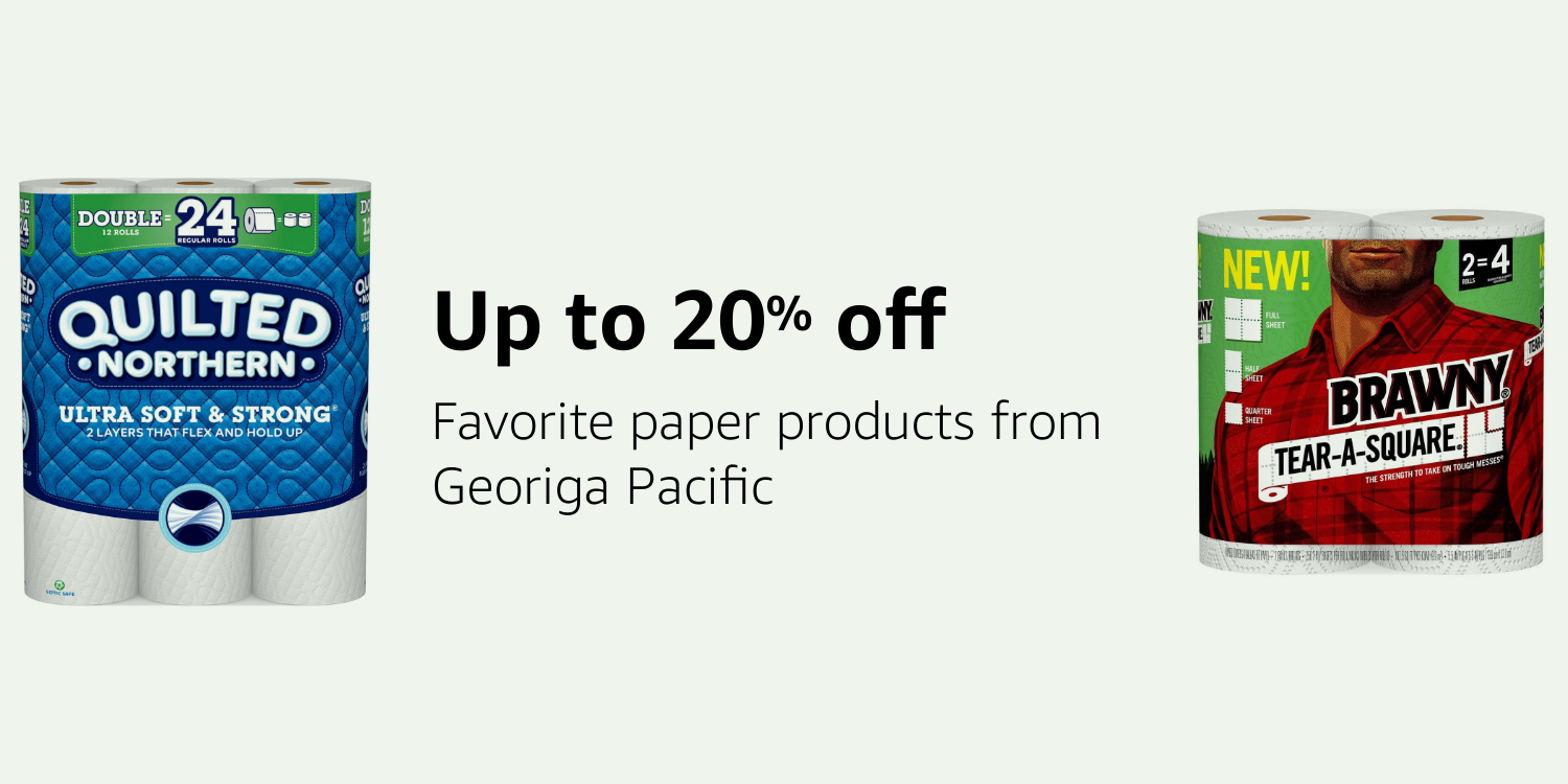 Save up to 20% on Georgia Pacific