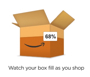 Watch your box fill as you shop