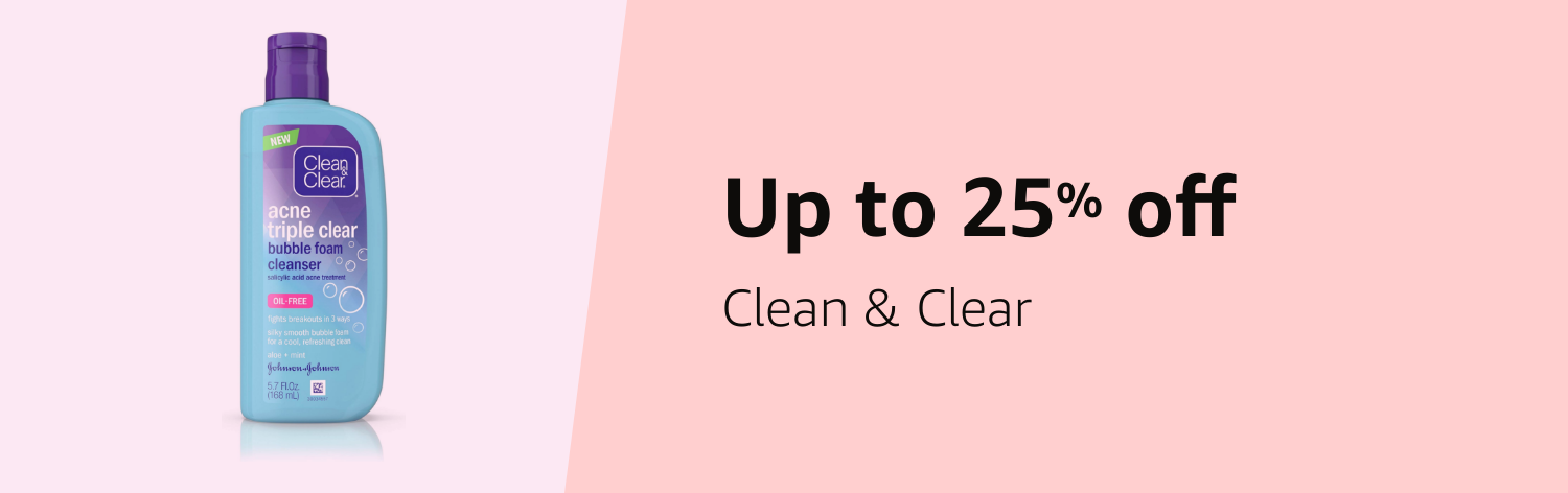 Save up to 25% on Clean and Clear