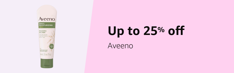 Save 20% on Aveeno