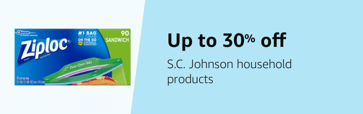 Save up to 30% on SC Johnson
