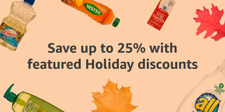 Holiday Savings up to 25%
