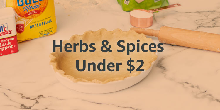 Herbs and Spices under $2