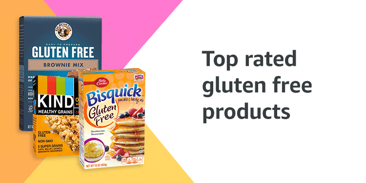 Top rated gluten free products