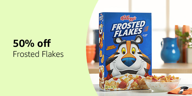50% off Frosted Flakes