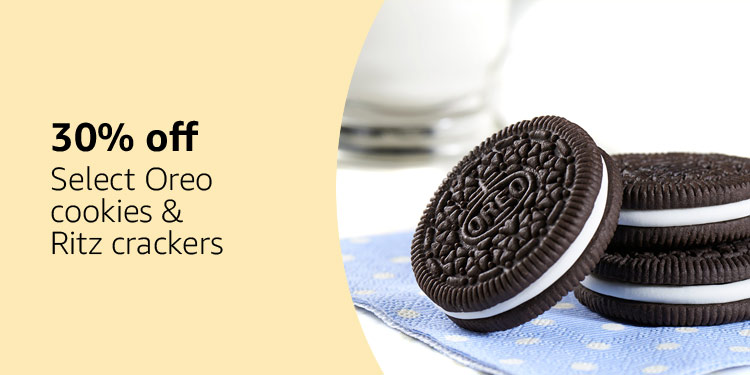 Save on Oreos and Ritz