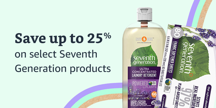 Save 25% on select 7th Generation