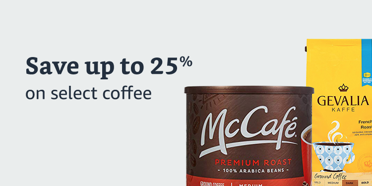 Save 25% on select coffee