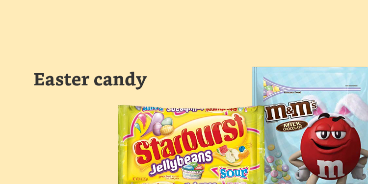 Shop candy to fill Easter baskets