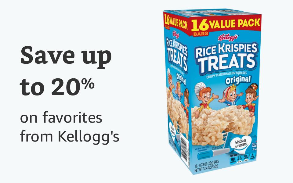 20% off Kelloggs