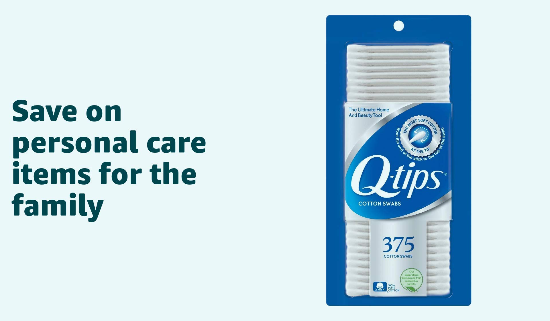 Save on personal care items