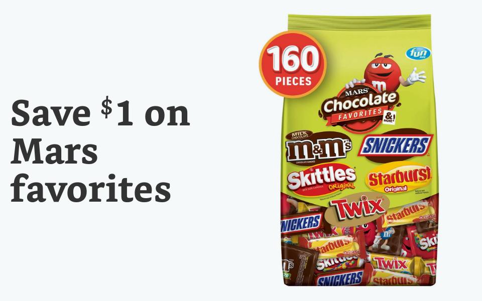 Save $1 off Mars
