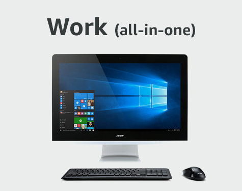 Amazon's Choice for a Work Desktop (all-in-one)