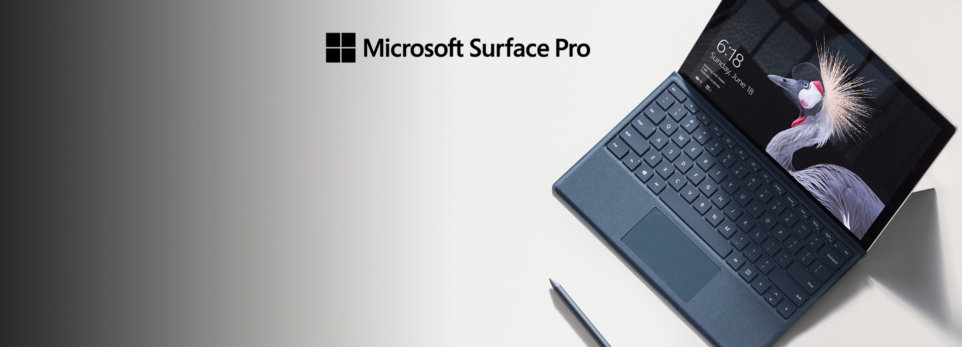 Introducing the new Microsoft Surface Pro.
