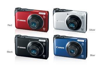 amazon com canon powershot a2200 14 1 mp digital camera with 4x rh amazon com Canon PowerShot A2500 A Canon PowerShot 4000 Battery