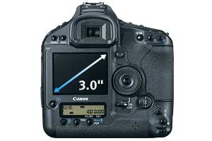 Canon EOS 1D Mark IV Digital SLR highlights