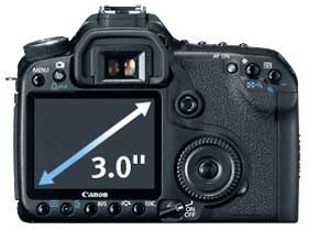 Canon EOS 50D digital SLR highlights
