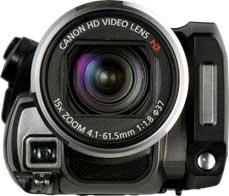 Canon VIXIA HF200 camcorder highlights