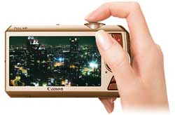 Canon PowerShot digital camera highlights