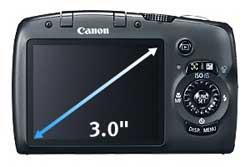 Canon PowerShot SX120 highlights