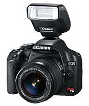 Canon EOS Digital Rebel T1i digital SLR highlights