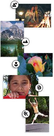 Kodak EasyShare DX7630's scene modes