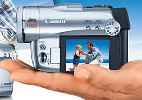 amazon com canon optura 50 minidv camcorder w 10x optical zoom rh amazon com Canon XL2 Canon Optura Mini DV