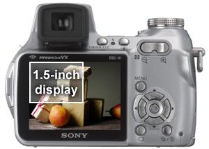amazon com sony cybershot dsch1 5 1mp digital camera with 12x rh amazon com