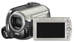 JVC Everio HDD camcorder highlights