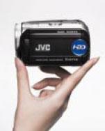 JVC Everio size