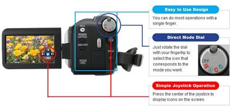 amazon com panasonic sdr h40 40gb hard drive camcorder with 42x rh amazon com Panasonic Battery Charger Panasonic SDR H60p AC Adapter