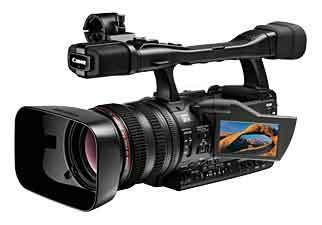 Canon XH A1 highlights