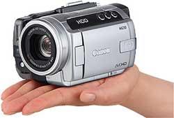 Canon HG10 HD camcorder highlights