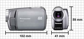 Panasonic SDR-S7 Highlights