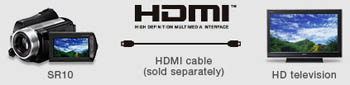 Sony HDR-SR10 Highlights
