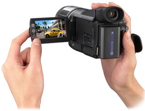 amazon com sony hdr hc1 2 8mp high definition minidv camcorder w