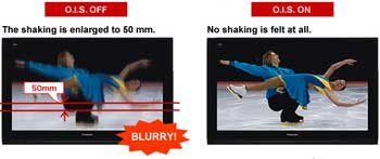 Panasonic HDC-SD5 HD camcorder highlights