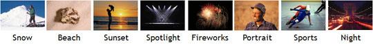 Canon VIXIA HF10 Highlights