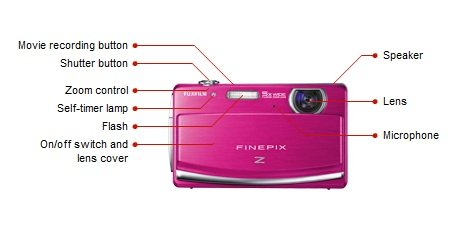 amazon com fujifilm finepix z90 14 mp digital camera with fujinon rh amazon com Fuji FinePix 16MP Digital Camera