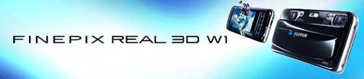 Fuji FinePix REAL 3D W1 digital camera highlights