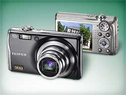 Fuji Finepix F70EXR digital camera highlights