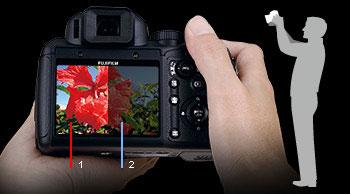 Fuji Finepix S200EXR digital camera highlights