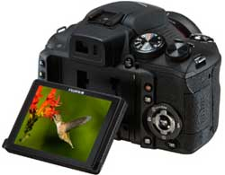 Fujifilm FinePix HS20 digital camera highlights