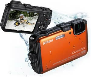 The Nikon COOLPIX AW100
