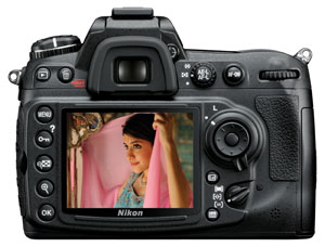 D300S LCD Display
