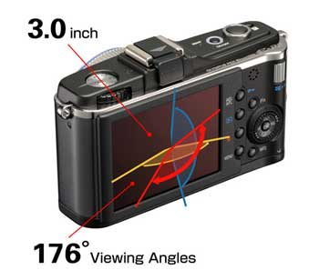 Olympus PEN E-P2 digital camera highlights