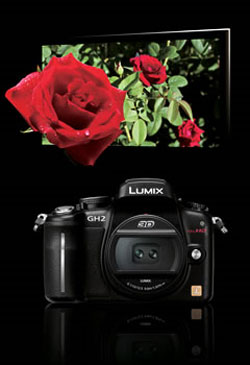 Panasonic Lumix DMC-GH2 highlights