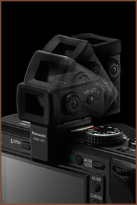 Panasonic VF1 viewfinder highlights