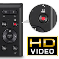 HD Video capabilities of the Panasonic LUMIX DMC-FH10